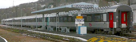 Cantal - Neussargues - gare
